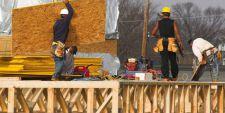 photo de travailleurs sur un chantier