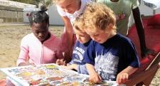 image d'enfants représentant la Seine-Maritime de demain
