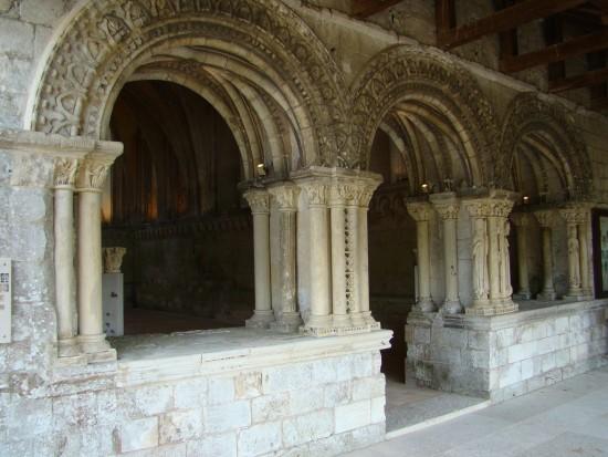 Salle capitulaire de Saint-Georges-de-Boscherville
