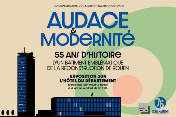 Audace et modernité : exposition vintage