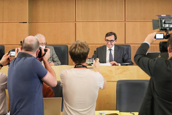 Bertrand Bellanger réélu Président du Département