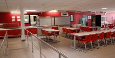 photo d'une cantine de coll�ge