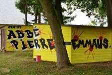 Nouvel espace Street art au Centre abbé PIerre-Emmaüs