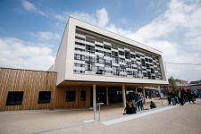 Inauguration du nouveau collège André Siegfried à Saint-Romain de Colbosc