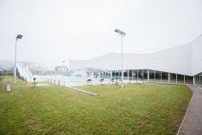 Inauguration d'un nouveau Centre Aquatique au Tréport
