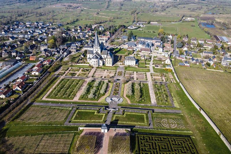 Jardins de l'abbaye Saint-Georges