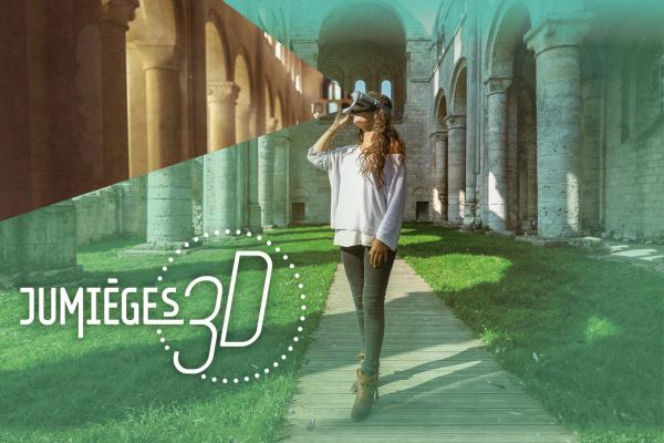 Jumièges 3D : voyage dans le temps