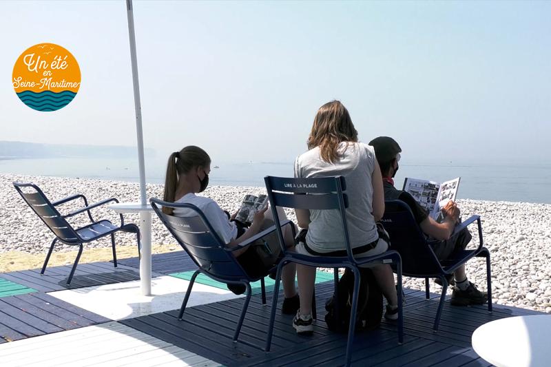 Lundi en images bis : Lire à la plage