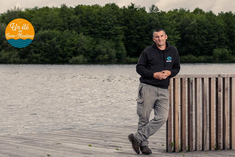 Portrait d'agent : Rodolphe, agent de l'équipe technique départementale des Espaces Naturels Sensibles (ENS)