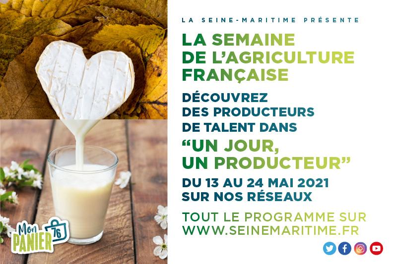Semaine de l'agriculture française : partagez le quotidien des producteurs locaux