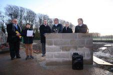 Le chantier de la demi-pension du collège d'Offranville officiellement lancé