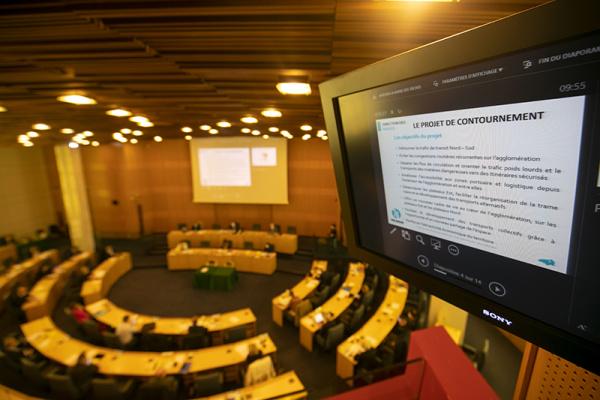 Le Conseil Départemental confirme son engagement financier pour le contournement Est de Rouen