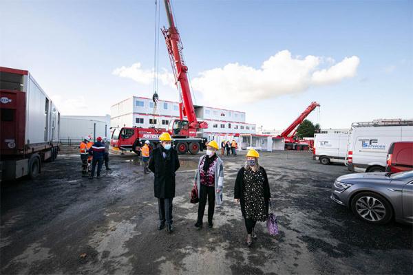 Le Département reconstruit le collège Romain Rolland au Havre