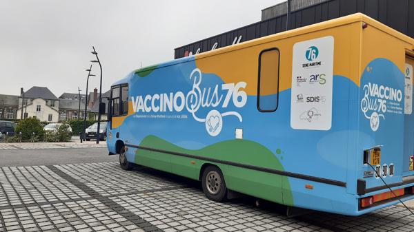Le dispositif Vaccinobus 76 monte en puissance