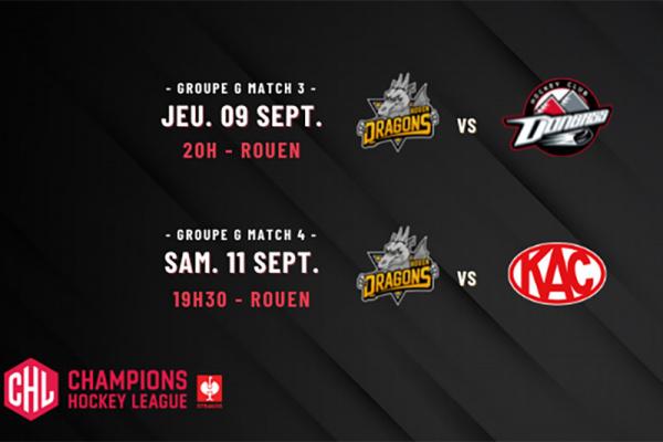 Le Rouen Hockey Elite débute sa campagne européenne