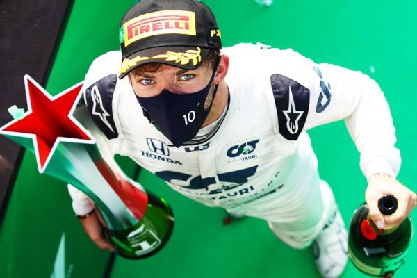 Pierre Gasly remporte le Grand Prix d'Italie de Formule 1