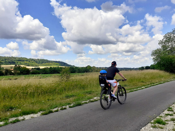 Le saviez-vous? La Seine-Maritime se visite aussi à vélo
