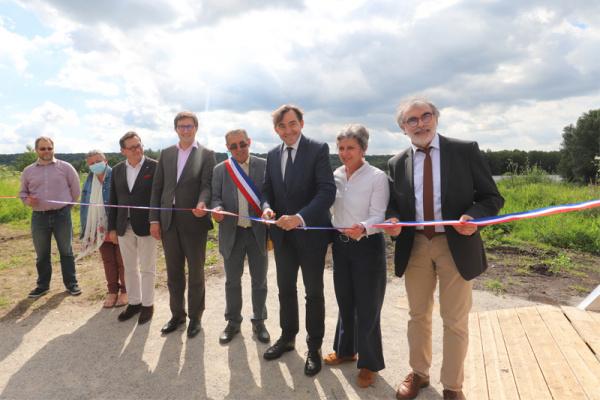 L'Espace Naturel Sensible de la tourbière d'Heurteauville inauguré