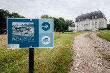 L'exposition «  Paysages » d'Henri Cartier-Bresson à l'Abbaye de Jumièges