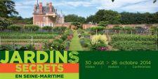 Partez � la d�couverte des jardins secrets de Seine-Maritime jusqu'au 26 octobre 2014
