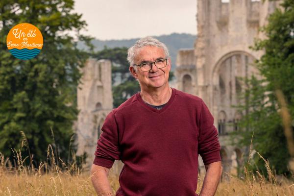 Portrait d'agent : Philippe, gardien à l'abbaye de Jumièges