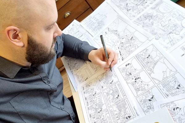 Rémi Piélot dessine la Normandie