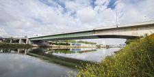 R�ouverture du pont Mathilde le 26 ao�t