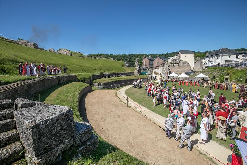 Théâtre romain de Lillebonne