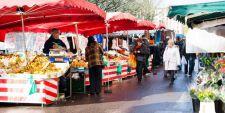 photo du marché de rouen saint sever