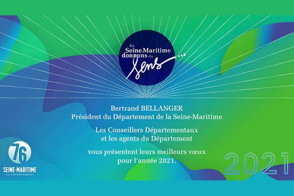 Voeux 2021 du Département de la Seine-Maritime